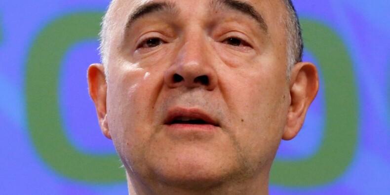 Macron doit ramener le déficit sous les 3% du PIB, estime Moscovici