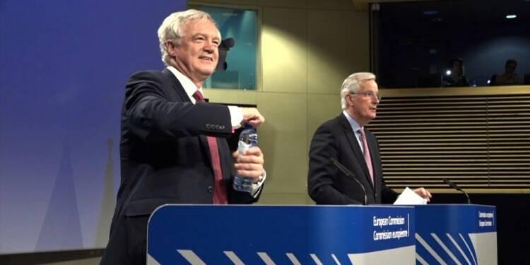 Brexit: Londres accepte les conditions de Bruxelles