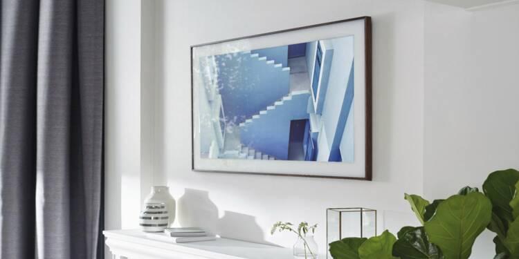 Samsung Frame : la télévision qui s'accroche au mur comme une oeuvre d'art