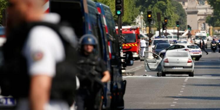L'assaillant des Champs-Elysées a fait allégeance à Daech