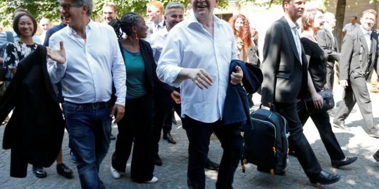 """Mélenchon veut mener bataille contre le gouvernement """"de droite"""""""