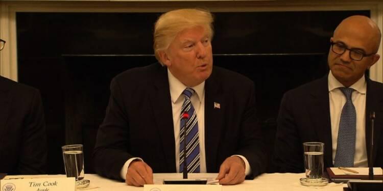 Etudiant décédé: Trump dénonce le