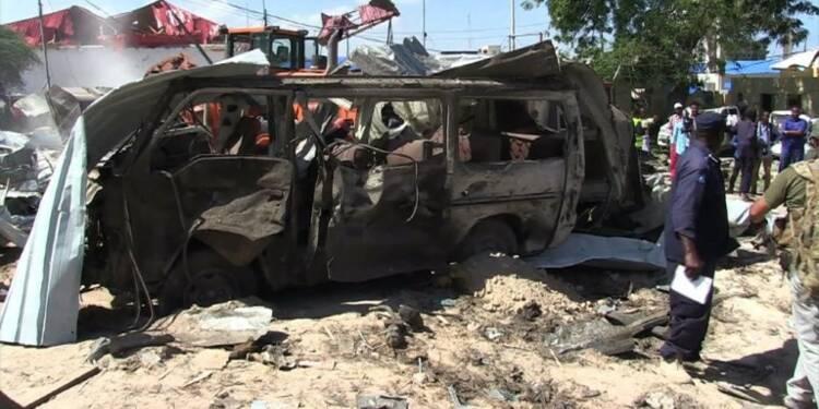 Somalie: au moins 10 morts dans un attentat shebab à Mogadiscio