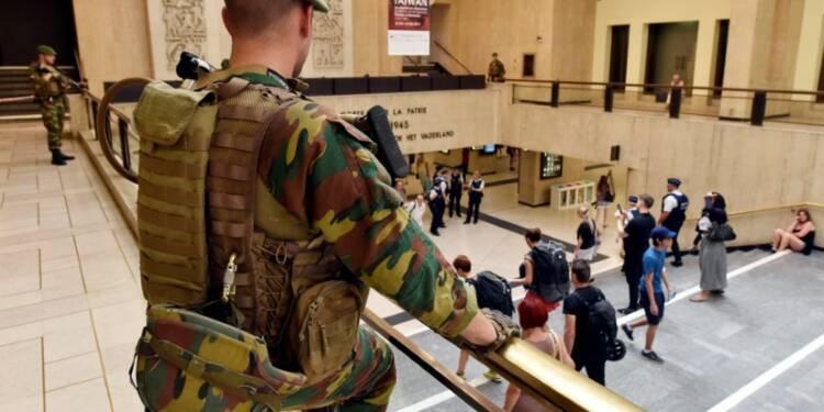 L'homme abattu par l'armée belge à Bruxelles, sympathisant de l'EI