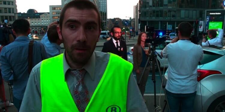 Explosion à Bruxelles: le suspect a crié