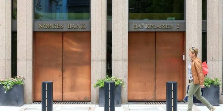 La Norges Bank maintient son taux, abandon du biais accommodant