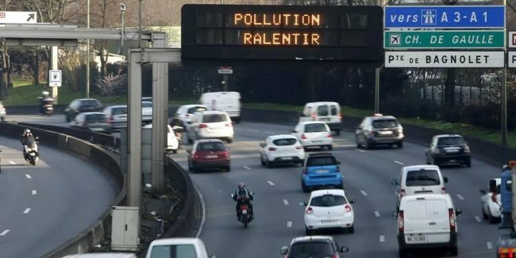 Fin de la circulation différenciée à Paris et proche banlieue