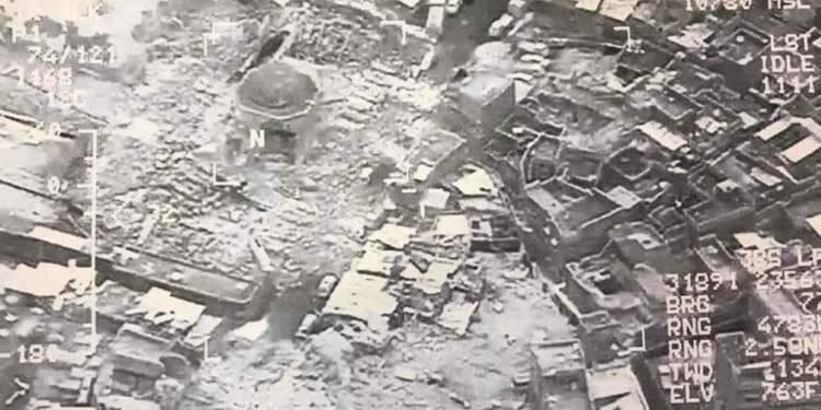 Irak: les jihadistes ont fait exploser la mosquée al-Hadba