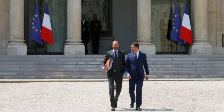 Le départ de ministres MoDem n'est pas un aveu, dit Castaner