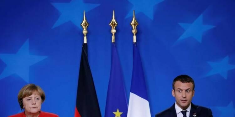 Macron et Merkel scellent un pacte pour l'Europe à Bruxelles