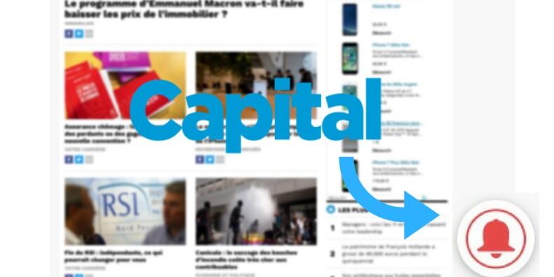 Nouveau : cliquez sur la cloche pour vous abonner aux actualités de Capital