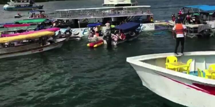 Colombie: un naufrage dans un site touristique très fréquenté