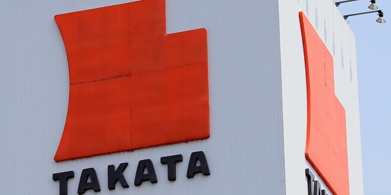 Takata dévisse de 70% faute de parachute réglementaire