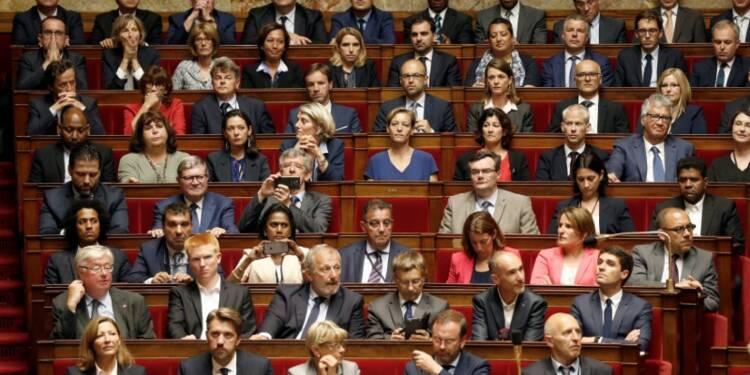 Sept groupes à l'Assemblée nationale