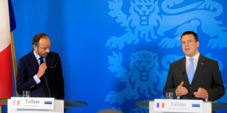 Philippe défend en Estonie l'agenda européen de la France