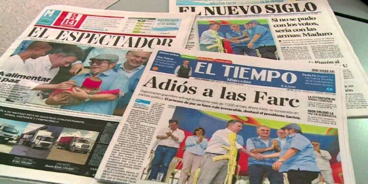 Les Colombiens divisés par le désarmement total des FARC