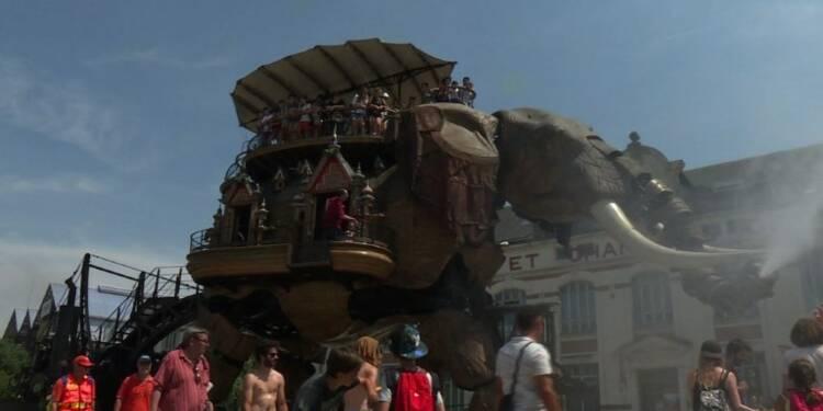 Nantes: Les Machines de l'Ile fêtent leurs 10 ans