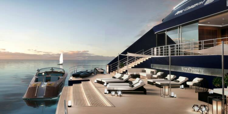 À bord des yachts de luxe du groupe Ritz-Carlton