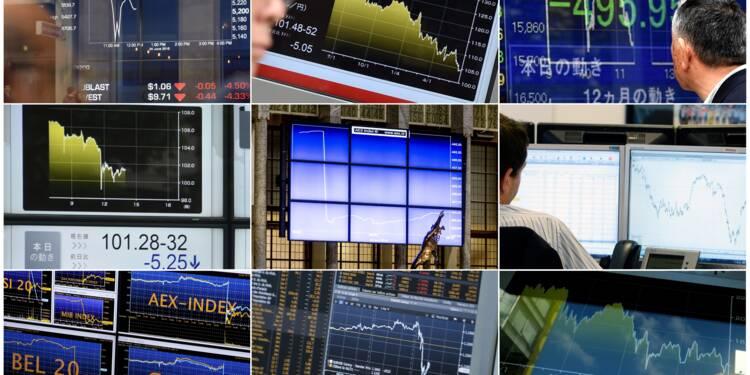 La Bourse de Paris fait grise mine (-0,56%), rattrapée par les minutes de la Fed