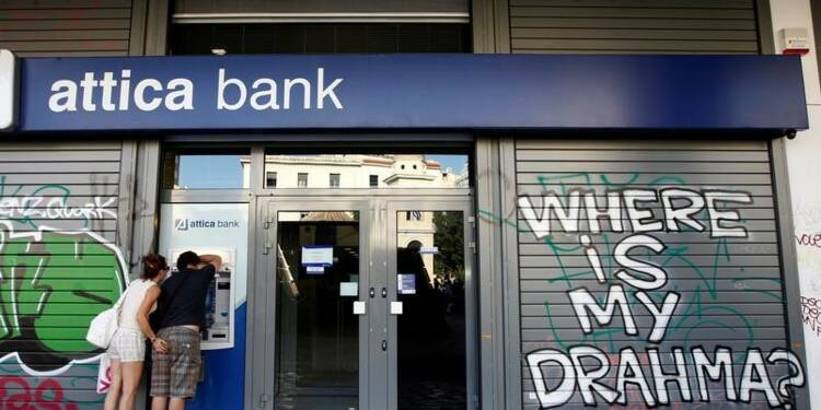 RPT-La BCE examinera les banques grecques sur leurs prêts à risque