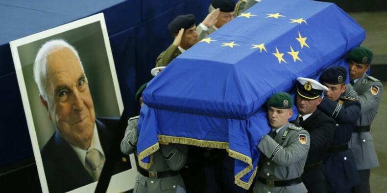 Dernier hommage planétaire à Helmut Kohl l'Européen