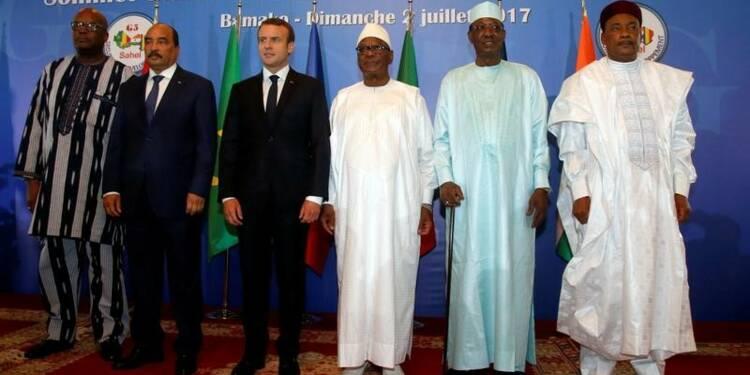 """Le """"G5 Sahel"""" lance sa force antiterroriste avec l'appui de la France"""