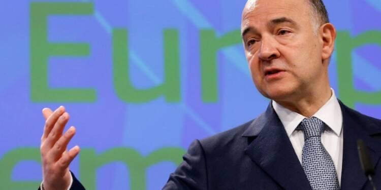 Déficits: Pas question d'accorder un délai à la France, dit Moscovici