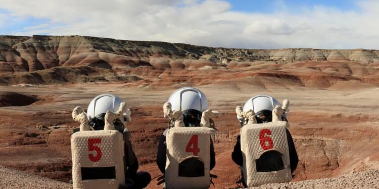 Ils apprennent le travail en équipe... sur Mars