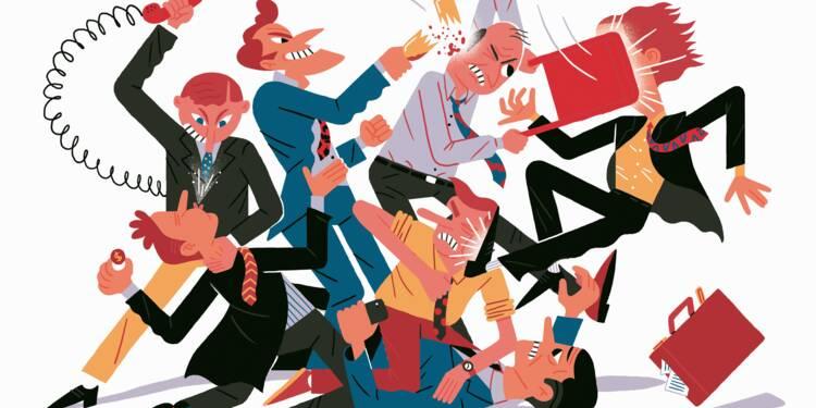Retard, insultes, bagarres... : ce que vous risquez en cas d'écart au bureau