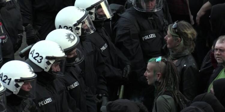 Hambourg: la manifestation anti-G20 dégénère