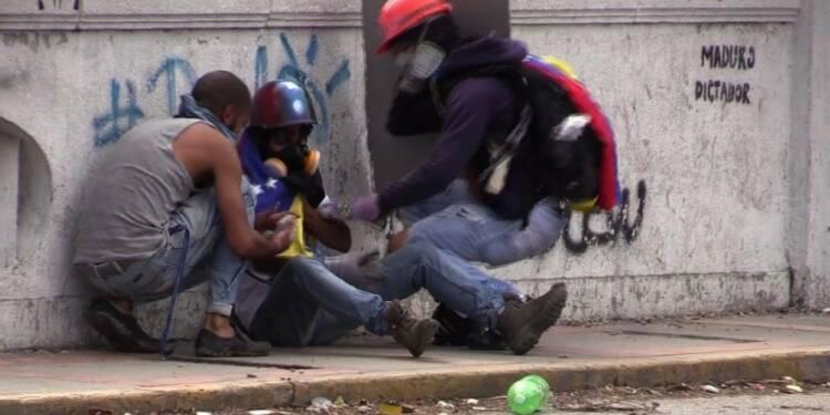 Venezuela: nouveaux heurts entre manifestants et policiers
