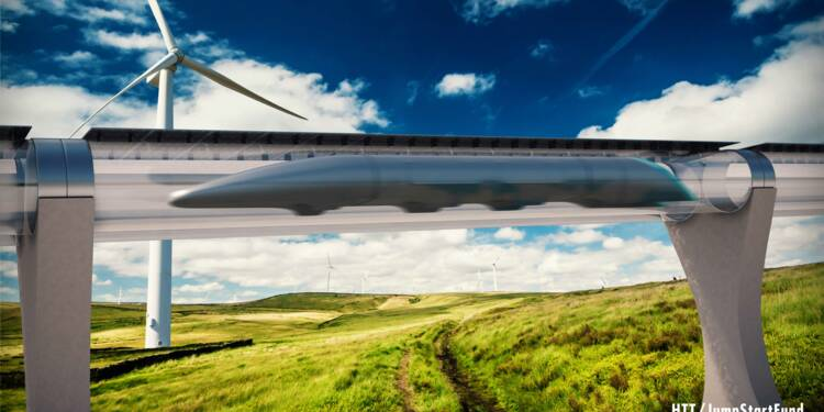 Bientôt Lyon-Saint-Etienne en 8 minutes avec l'Hyperloop ?