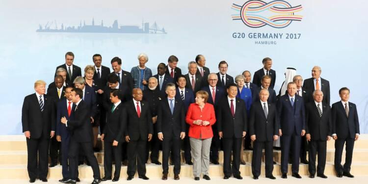 Vers une nuit de négociations au G20 de Hambourg