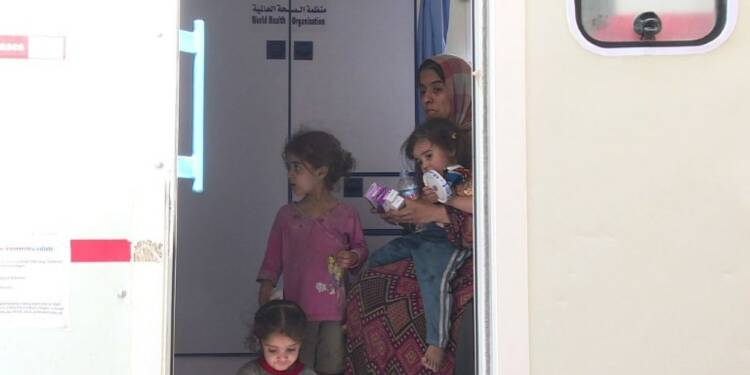 Irak: des centaines de civils fuient les combats à Mossoul