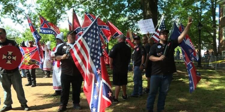 En Virginie, les antiracistes ont éclipsé le Ku Klux Klan