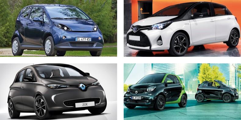 Renault Zoé, Toyota Yaris hybride, Citroën E-Mehari… Voici dix voitures électriques ou hybrides à partir de 12.000 euros