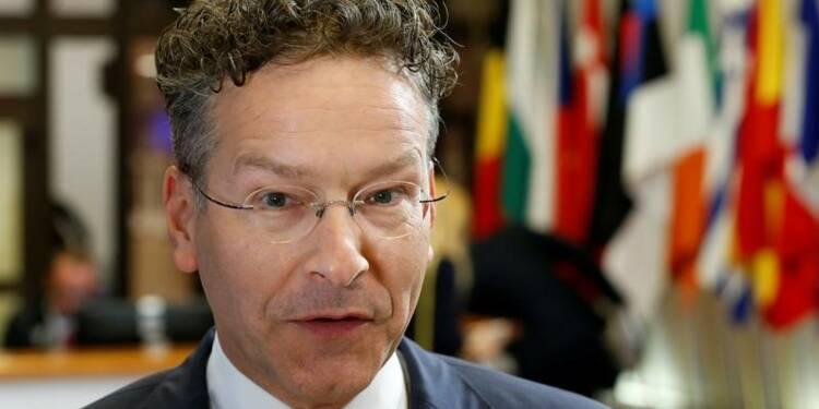 UE: Dijsselbloem prône une réflexion sur l'aide d'Etat aux banques
