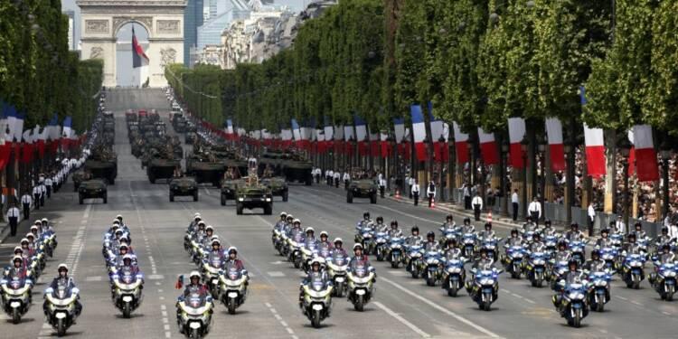 14 Juillet: 11.000 policiers et un drone mobilisés à Paris