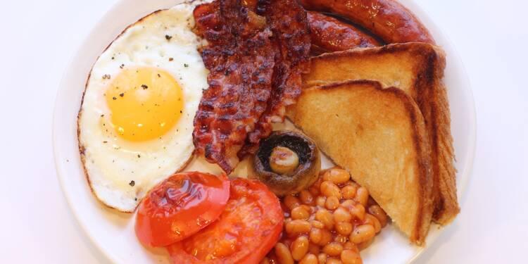 Des prix salés pour le breakfast britannique en cas de Brexit dur