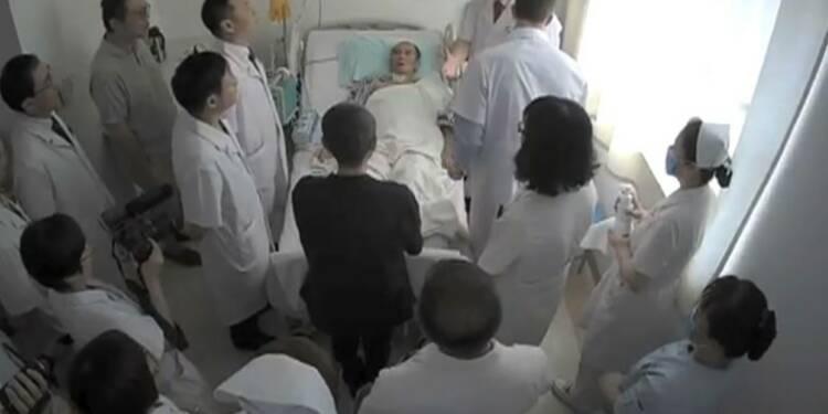 Chine : images du Prix Nobel Liu Xiaobo hospitalisé