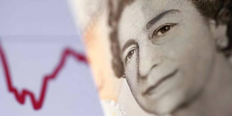 GB: Croissance des salaires inférieure à l'inflation