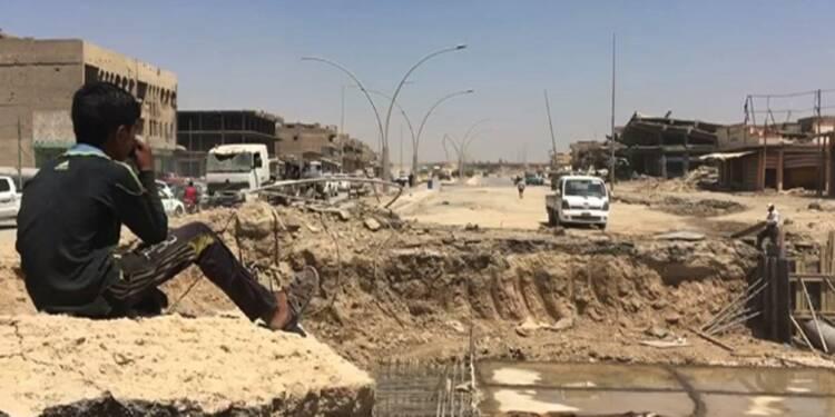 A Mossoul ouest, les habitants reconstruisent leurs quartiers