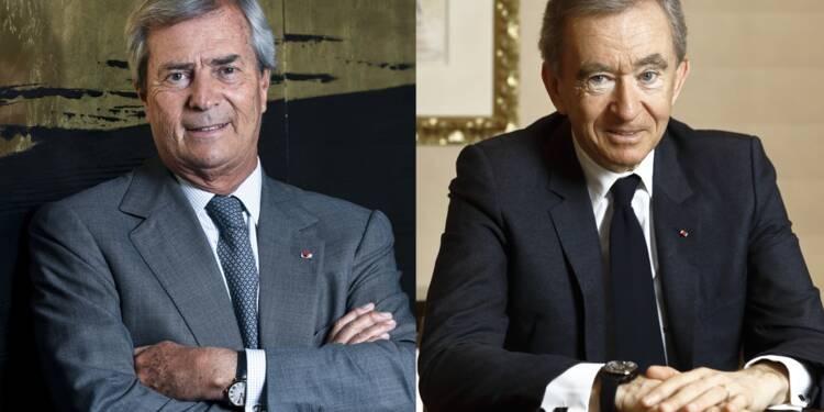 Vincent Bolloré et Bernard Arnault : les virtuoses de la finance