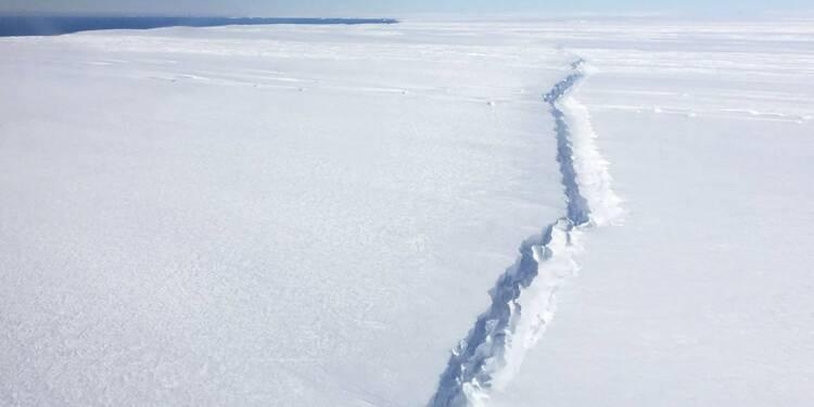 Un Iceberg 55 fois plus grand que Paris se détache de l'Antarctique
