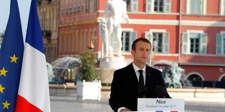 Un an après l'attentat, Macron assure les Niçois du soutien de l'Etat