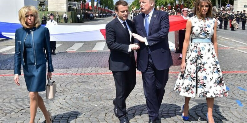 """Trump quitte Paris en """"ami"""", des questions restent en suspens"""