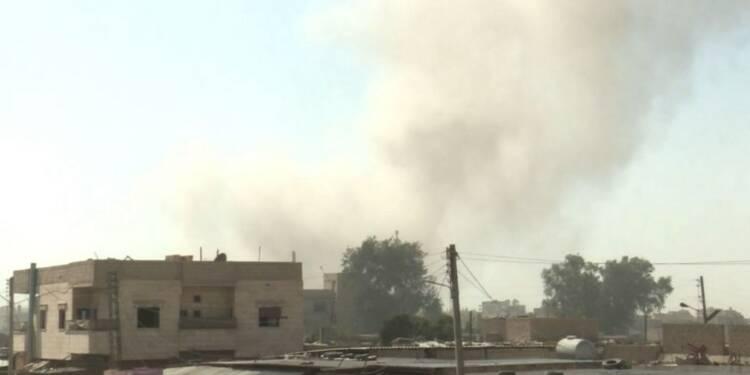 Syrie: la bataille pour Raqa, fief de l'EI, se poursuit