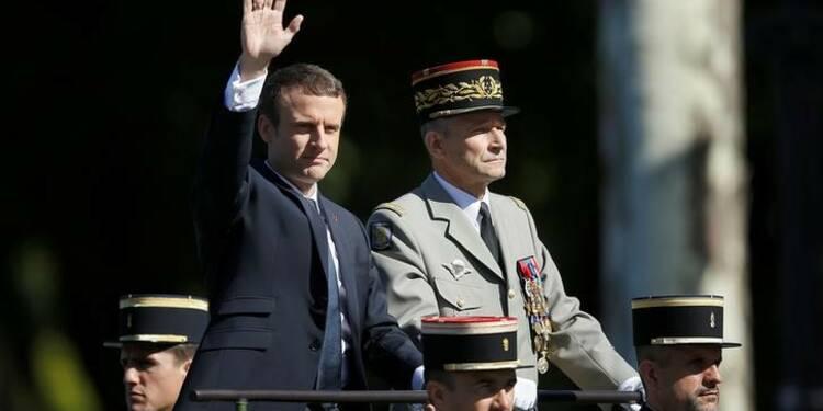 Macron reste ferme à l'égard du chef d'état-major des armées