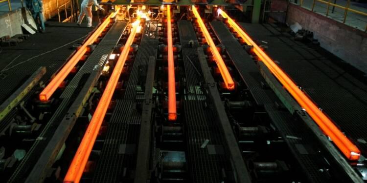 La production chinoise d'acier à un niveau record en juin