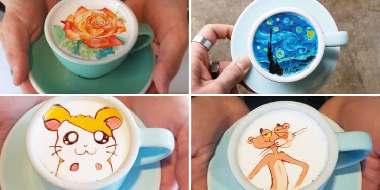 Ce barman sud-coréen transforme votre café en oeuvre d'art
